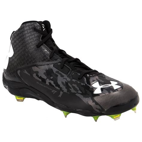 under armoir cleats under armour deception mid diamondtips men s baseball cleats