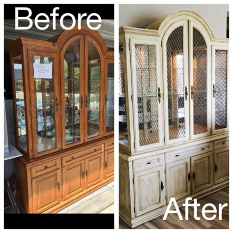 painted china cabinet before and after 1000 images about chalk paint 174 decorative paint by