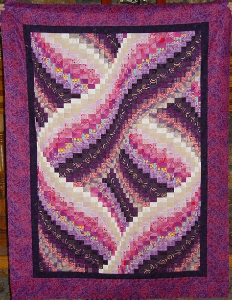 Twisted Quilt Pattern by Twisted Bargello Quilt Bargello S