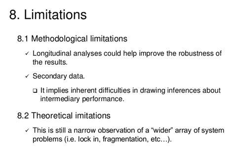 limitations of dissertation doctoral dissertation presentation 2014