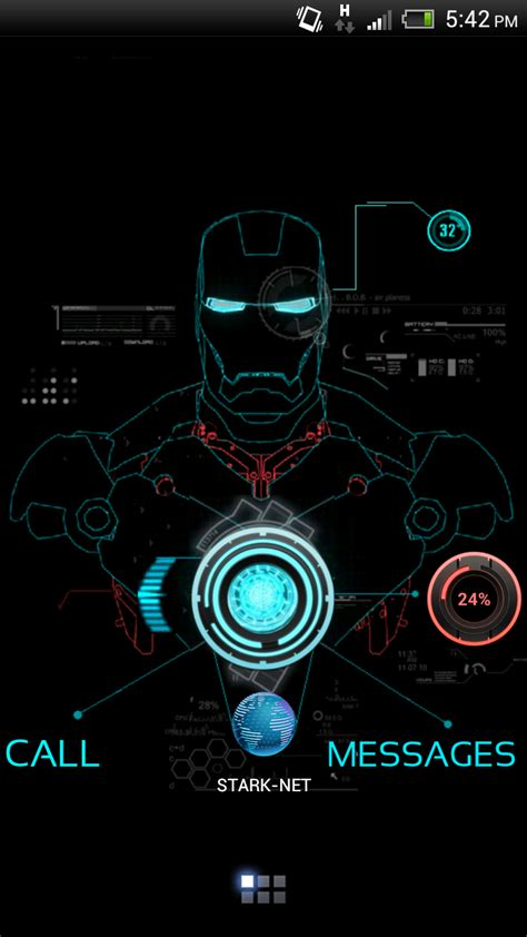 theme line ironman android iron man wallpaper for android wallpapersafari