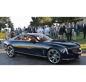 Cadillac Elmiraj Concept Brings Big Coupe Style To Pebble