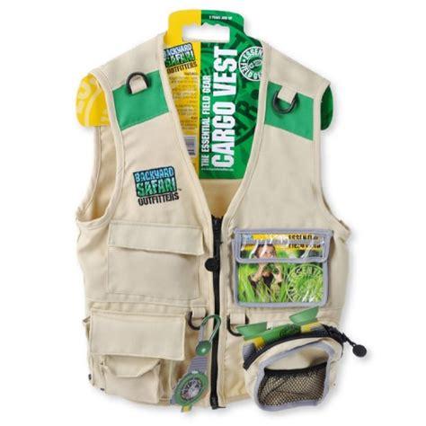 Backyard Safari Kids Explorer Cargo Vest Educational Backyard Safari Vest