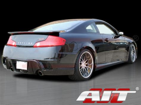 infiniti g35 side skirts spec k style side skirts for 2003 2007 infiniti g35 coupe