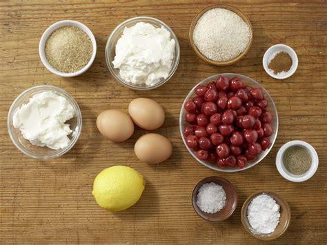 ricotta quark kuchen ricotta quark kuchen mit kirschen rezept eat smarter