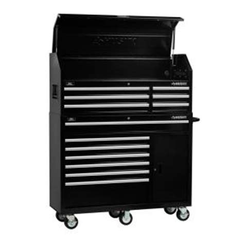 husky 52 in 18 drawer tool chest and cabinet set husky 52 in 13 drawer tool chest and cabinet combo in
