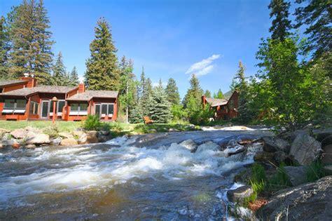 estes park cottages on the river top cabins on river in estes park