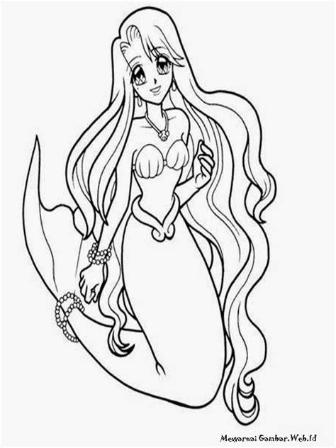 Gambar Mermaid gambar mewarnai mermaidia mewarnai gambar