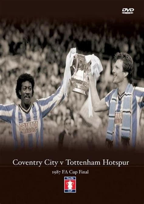 Dvd 1981 Fa Cup Tottenham Hotspur V Manchester City 1987 fa cup coventry city v tottenham hotspur dvd zavvi