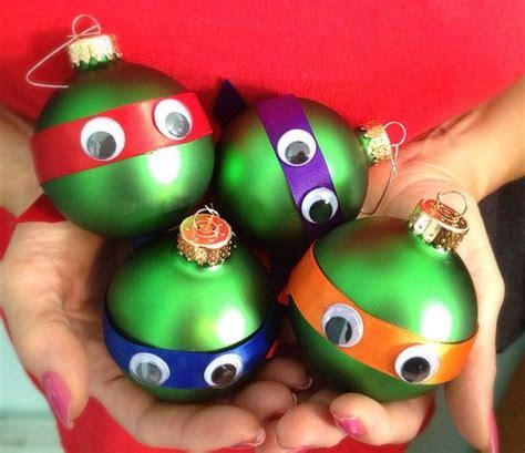 green turtle set of 4 christmas ornaments christmas balls