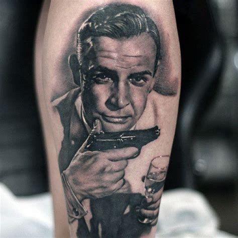 james bond tattoo 30 bond designs for 007 ink ideas