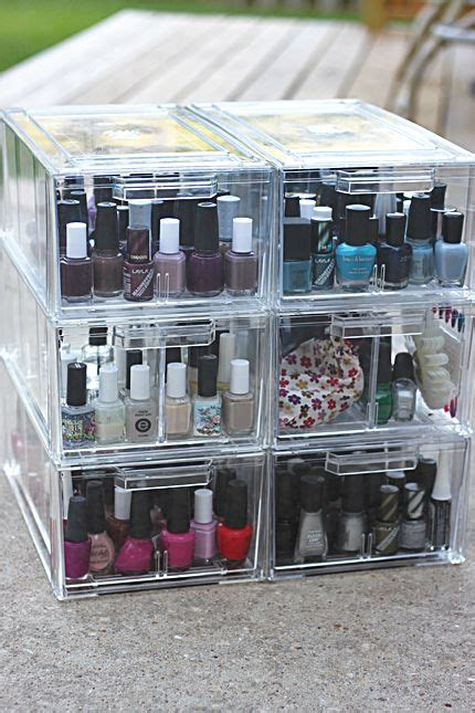 Nail And Storage Drawers by Best 25 Nail Polishes Ideas On Nail
