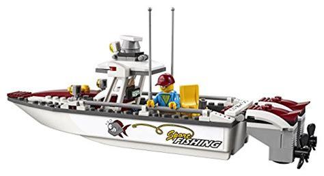toy lego boat lego city fishing boat 60147 creative play toy buy