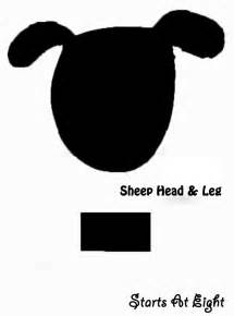 Cardboard Sheep Template by Printable Sheep Templates Cotton Balls Search Results