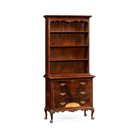 Jonathan Furniture by Jonathan Charles 492818 Buckingham Mahogany Bookcase
