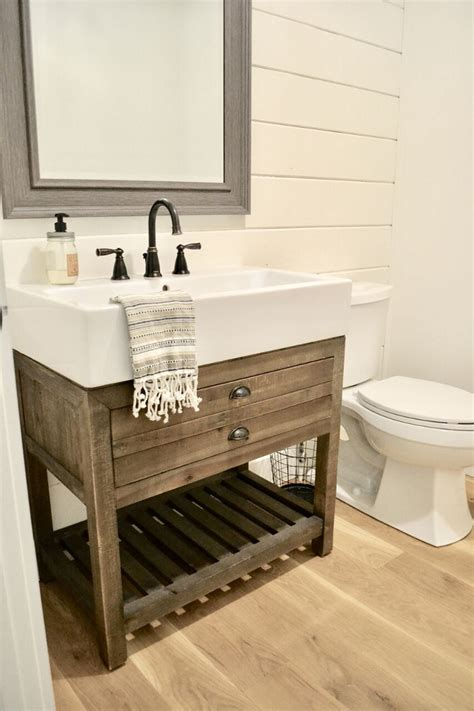 rustic farmhouse bathroom beautiful homes of instagram home bunch interior design