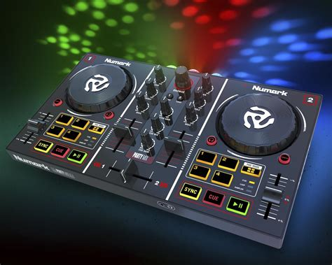 dj mix numark party mix dj controller introduced