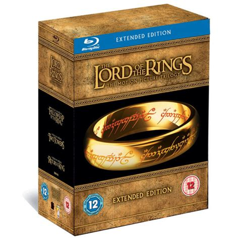 the lord of the rings trilogy extended edition on blu ray the lord of the rings trilogy blu ray extended edition