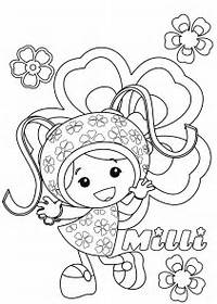 Milli Team Umizoomi Coloring Pagesjpg