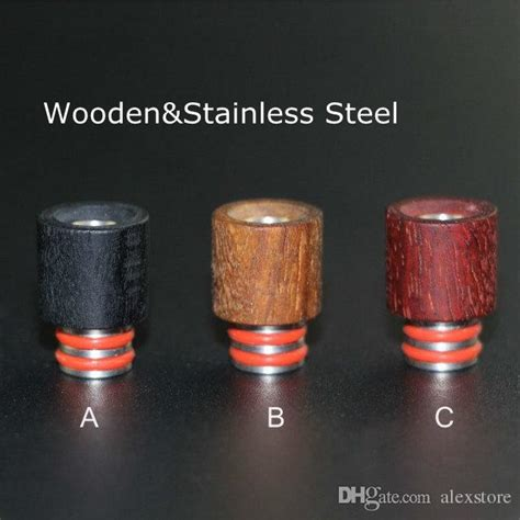 Wood Kayu Ss 510 Drip Tip by Best Wooden Drip Tips 510 Wood Stainless Steel