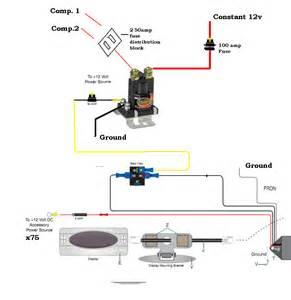 viair relay wiring diagram viair 40043 4 00p portable compressor