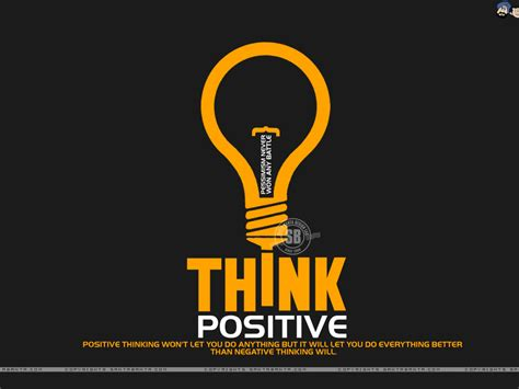 think on motivational wallpaper on think positive positive