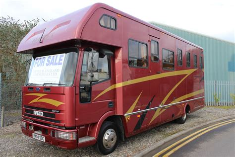 horseboxes for sale sovereign horsebox for sale central england horseboxes