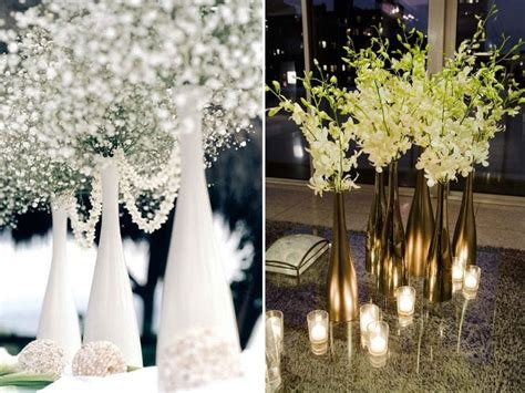 wedding centerpieces wine bottles wine bottle centerpieces budget friendly and looking chic