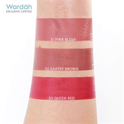 Lipstik Wardah Exclusive 2018 matte lipstick lippielust
