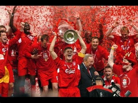 Kaos Liverpool Win 5 Times liverpool fc 2005 chions league winners a