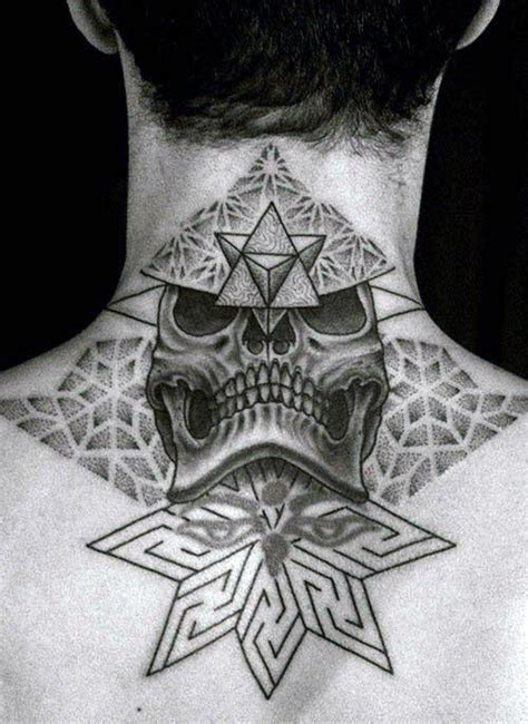 back neck tattoos for men top 40 best neck tattoos for manly designs and ideas