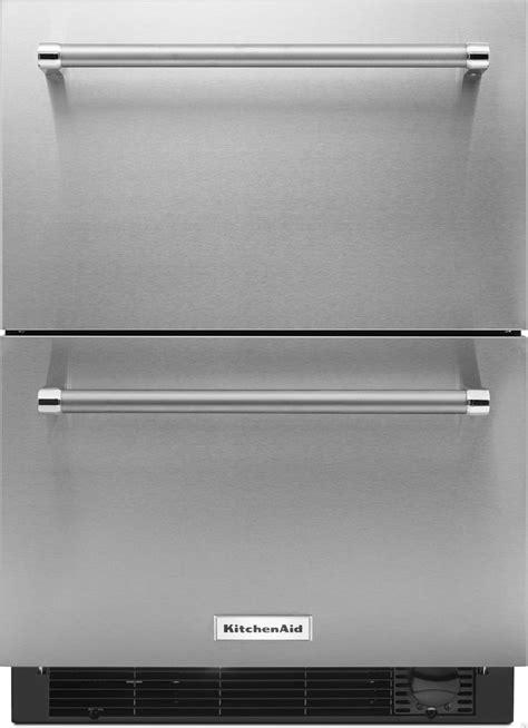 undercounter refrigerator drawers panel ready panel ready kitchenaid kudf204e 4 7 cu ft undercounter
