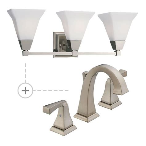 delta bathroom light fixtures delta 3551lf p3137 chrome dryden widespread bathroom