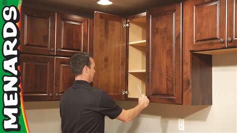 is it hard to install kitchen cabinets kitchen cabinet installation how to menards youtube