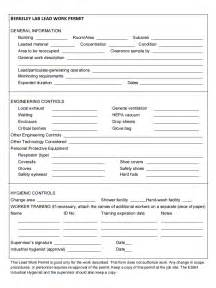 safe work permit template pub 3000 chapter 37 lead hazards and controls rev d 05 13