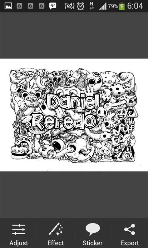 doodle names editor membuat doodle name picsay pro