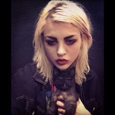 Frances Bean by Frances Bean Cobain Warns Not To Romanticize