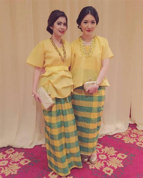 Baju Rok Terusan Tangan Panjang Untuk Usia 1 Tahunan 17 trend model kebaya 2018 untuk til modis modern dan stylish