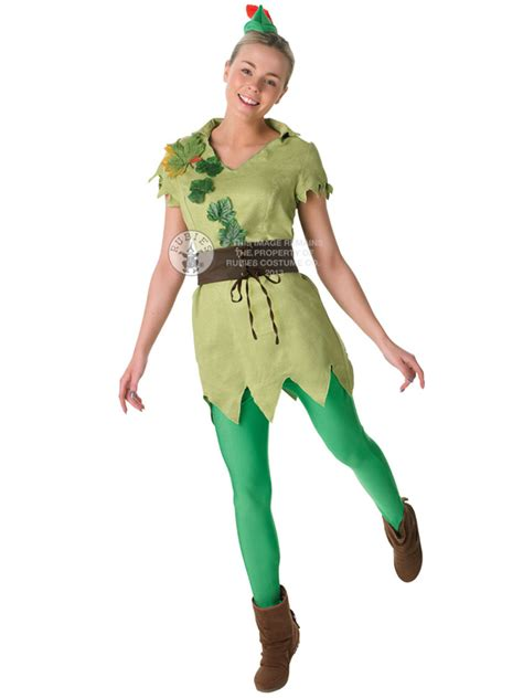 book themed clothing uk adult disney miss peter pan outfit fancy dress costume