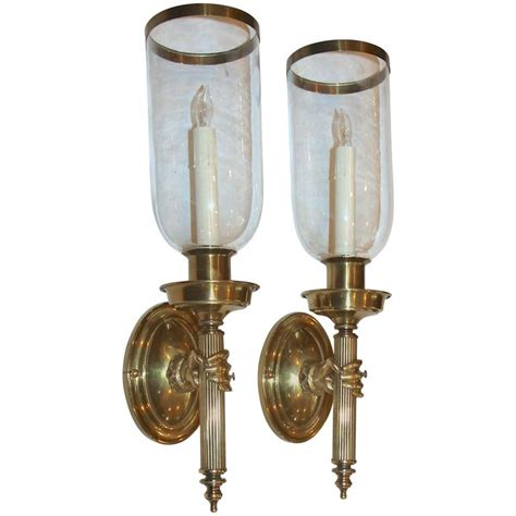 Torch Wall Sconce Large Torch Bronze Wall Sconces For Sale At 1stdibs