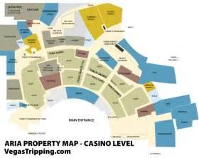 Aria Las Vegas Map the aria property map vegastripping com