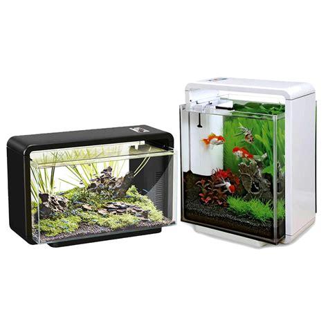 home fish l superfish 25 litres home aquarium fish tank kit with led
