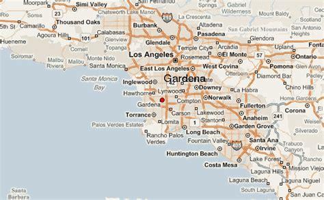 Gardena Ca by Gardena California Map California Map