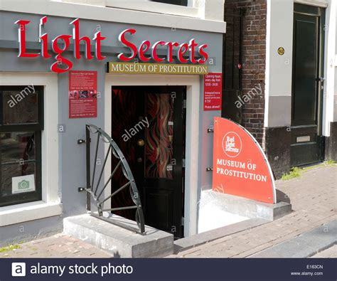 amsterdam museum of prostitution museum of prostitution amsterdam red light district stock