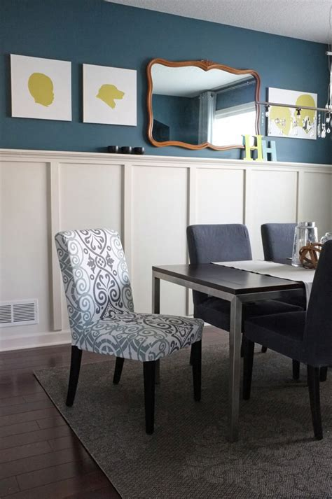 teal dining room teal accent wall dining room home garden design