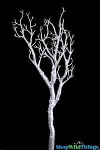 Manzanita Tree Branches Silver Manzanita Tree Branch Diy Silver Manzanita Tree Display For Centerpieces