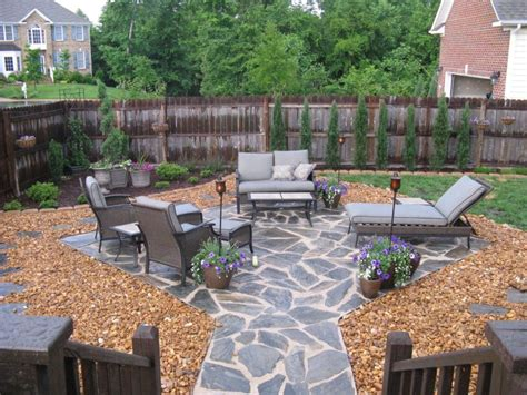 Rock Patio Designs 20 Rock Garden Ideas That Will Put Your Backyard On The Map
