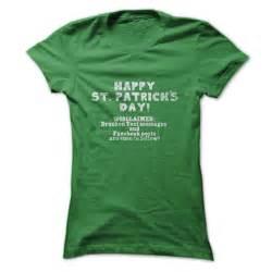 happy st patricks day t shirt drunken disclaimer st patricks day t shirt birthday gift