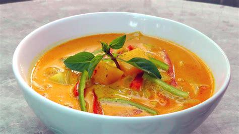 thai panang curry recipe vegetarian yellow thai curry international vegan