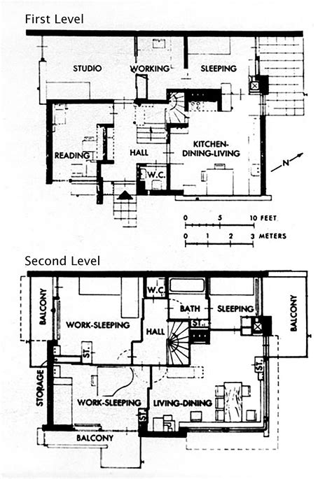 home plan designs the gallery for gt rietveld schroder house plan